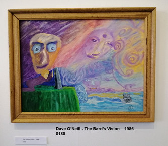 Dave O'Neill - The Bard's Vision    1986  $180