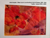 Jutta Humpfer - When I am in Love the Sky is Full of Flowers, 2020 - Sold