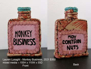 Lauren Lysaght - Monkey Business, 2021 $350