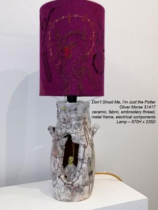 Oliver Morse - Don't Shoot Me, I'm Just the Potter - $1417
