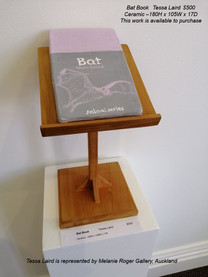 Tessa Laird - Bat Book - This work is available to purchase from A Gallery