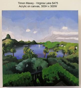 Timon Maxey - Virginia Lake $475