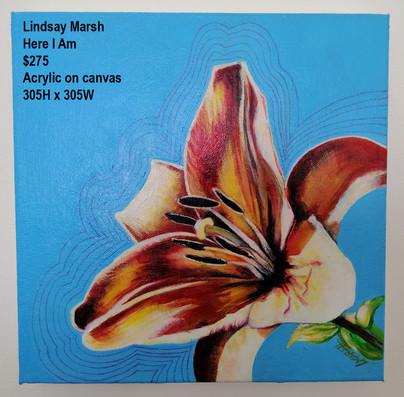 Lindsay Marsh - Here I Am - $275