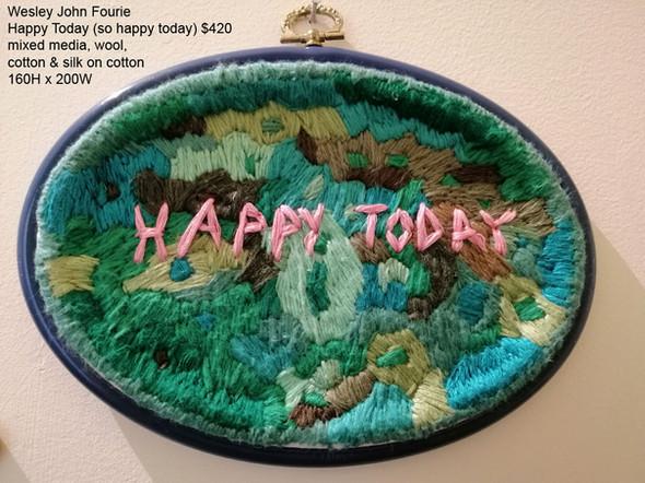 Wesley John Fourie – Happy Today (so happy today) $420