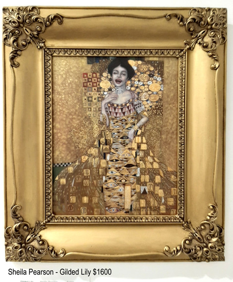 Sheila Pearson - Gilded Lily $1600