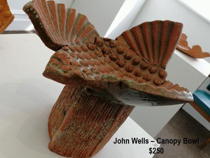 John Wells – Canopy Bowl - $250
