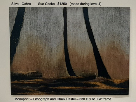 Silva - Ochre  -  Sue Cooke  $1250