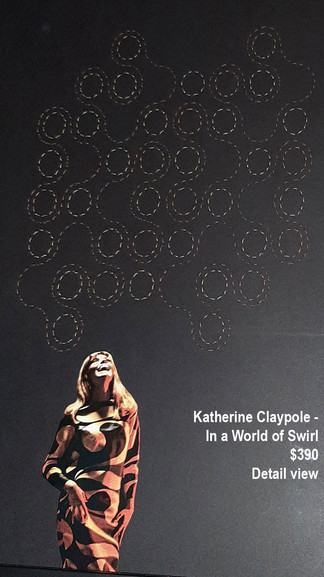 Katherine Claypole - In a World of Swirl (Detail) $390