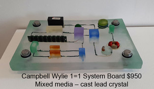Campbell Wylie - 1=1 System Board $950