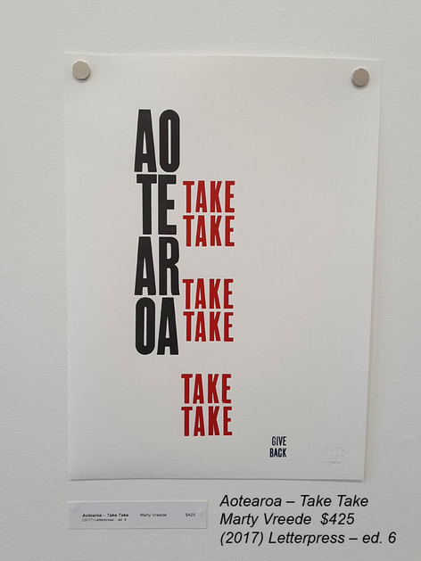 Aotearoa – Take TakeMarty Vreede$425