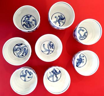 Aaron Scythe -Cup for (Alphabet) Soup  detail