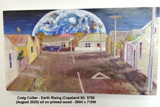 Craig Collier - Earth Rising (Copeland St) - Sold
