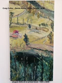 Craig Collier - Gentle Annie – River Terrace   $780