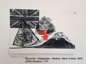 Reconcile – Relegislate – RestoreMarty Vreede$800