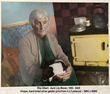 Rita Dibert - Aunt Lily Moran, 1983 - $425
