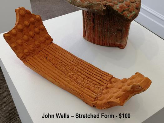 John Wells – Stretched Form - $100