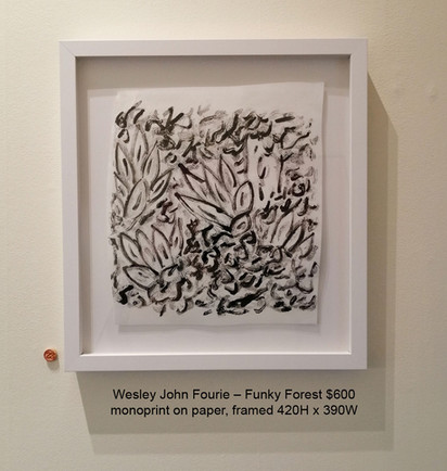 Wesley John Fourie – Funky Forest $600