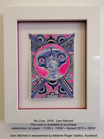 Sam Mitchell - No Cure  2019 - This work is available to purchase from A Gallery