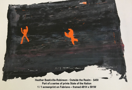 Heather Baskiville-Robinson - Outside the Realm - $450