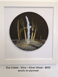 Sue Cooke - Silva – Silver Ghost - $650
