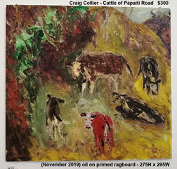 Craig Collier - Cattle of Papaiti Road - Sold