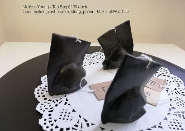 Melissa Young - Tea Bag $199 each