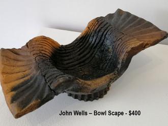 John Wells – Bowl Scape - $400