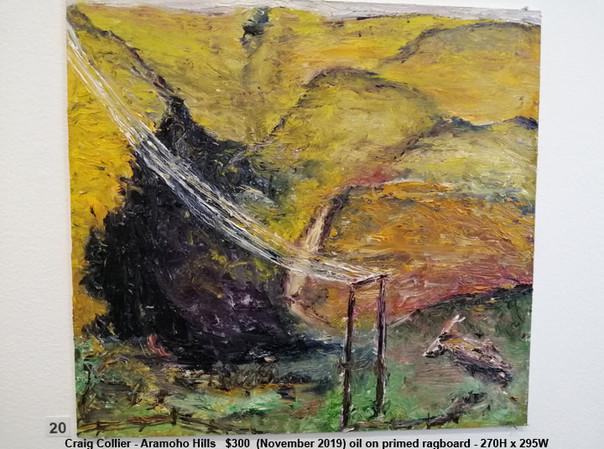 Craig Collier - Aramoho Hills   $300