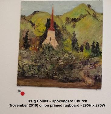 Craig Collier - Upokongaro Church - Sold