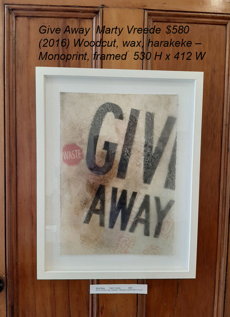 Give AwayMarty Vreede$580