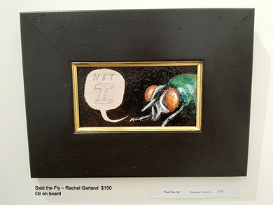 Said the Fly – Rachel Garland  $150