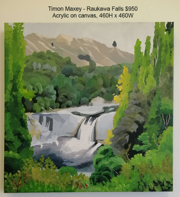 Timon Maxey - Raukawa Falls $950