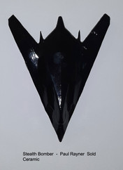 Stealth Bomber -  Paul Rayner  Sold
