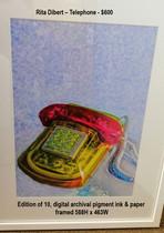 Rita Dibert – Telephone - $600