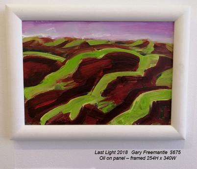 Gary Freemantle - Last Light 2018 - $675