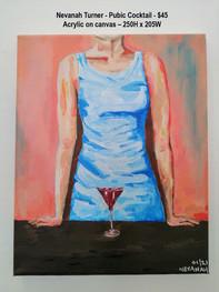 Nevanah Turner - Pubic Cocktail - $45