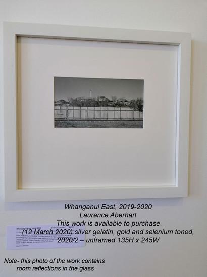 Laurence Aberhart - Whanganui East, (12 March 2020) - $POA