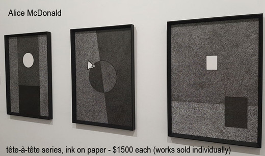 Alice McDonald - tête-à-tête series  $1500 each