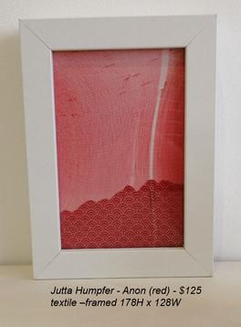 Jutta Humpfer - Anon (red) - $125