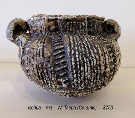 Wi Taepa - Kōhua – rua - $750