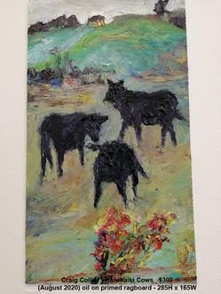 Craig Collier - Kaiwhaiki Cows   $300