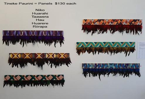 Tineke Paurini - Panels  $130 each