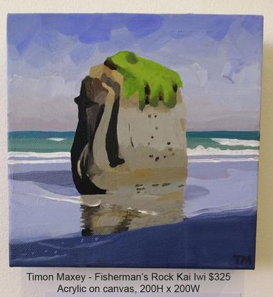 Timon Maxey - Fisherman's Rock Kai Iwi $325