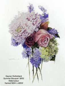 Gaynor Mulholland – Summer Bouquet $850