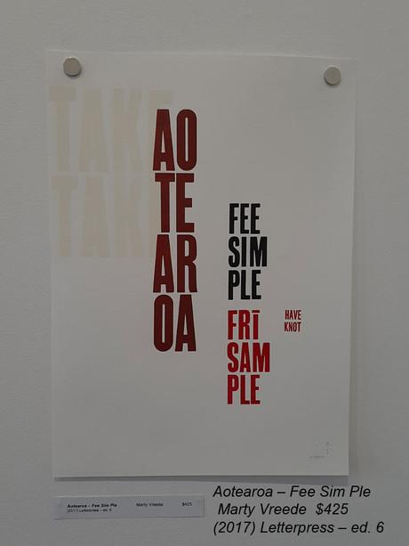 Aotearoa – Fee Sim PleMarty Vreede$425