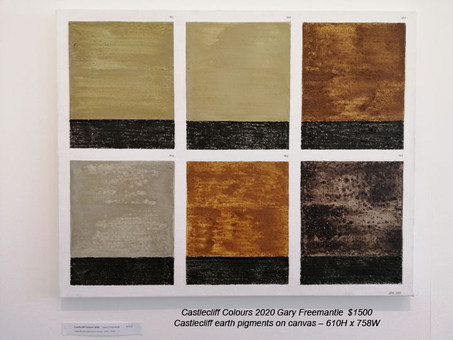 Gary Freemantle - Castlecliff Colours 2020 - $1500