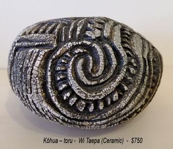 Wi Taepa - Kōhua – toru - $750