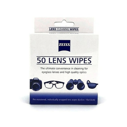 ZEISS 50 LENS WIPES