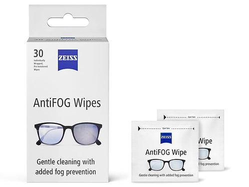 【  德國ZEISS蔡司 ANTI-FOG WIPES專業防霧濕紙巾(30片裝)】