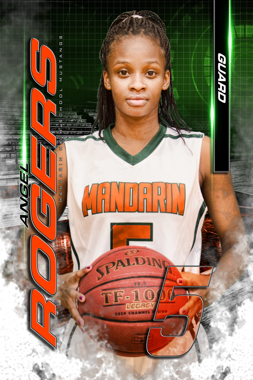 Mandarin High School Varsity Basketball Senior Class of 2017 Angel Rogers